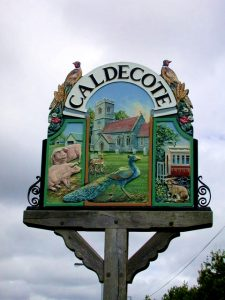 caldecote-village-sign
