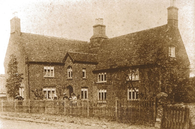 Manor Farm Knapwell in about 1890. © D Green